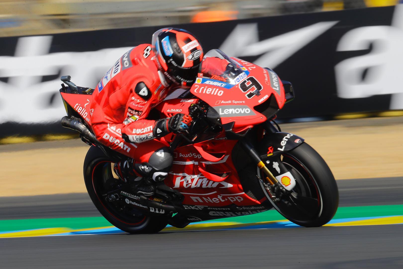 2019 Le Mans MotoGP Qualifying: Marquez on Pole; Equals Rossi's Record Ducati Petrucci