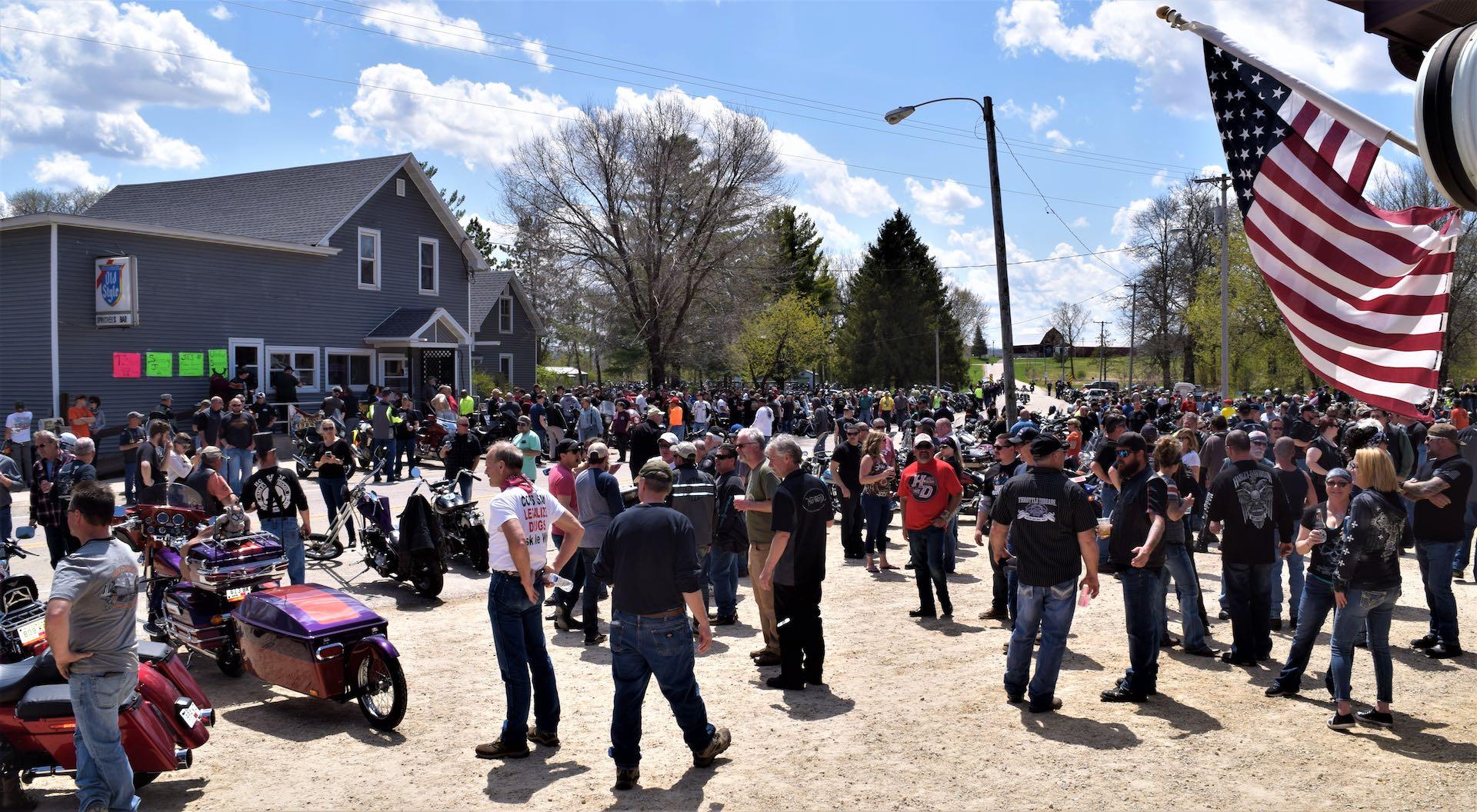 Leland Motorcycle rally