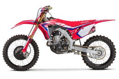2020 Honda CRF450RWE side look