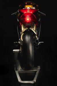 MV Agusta Superveloce 800 Wins Concorso - back