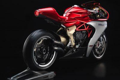 MV Agusta Superveloce 800 Wins Concorso - right rear