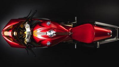 MV Agusta Superveloce 800 Wins Concorso - overhead