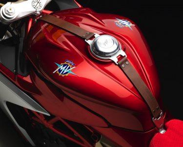 MV Agusta Superveloce 800 Wins Concorso - tank