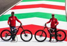 Petrucci and Dovizioso at Mugello Circuit