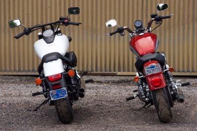 Honda phantom vs harley superlow specs