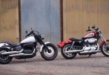 2019 Harley Superlow vs Honda Phantom Shadow