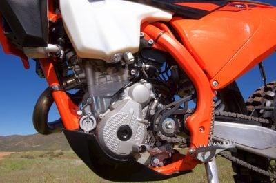 KTM 250 EXC-F engine