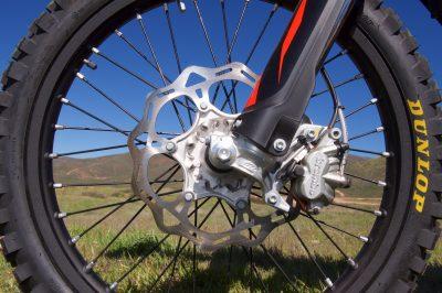 EXC-F wheel sizes KTM