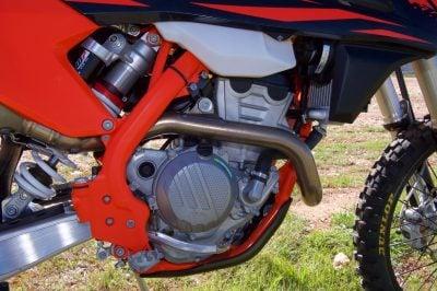 EXC-F engine horsepower 250 KTM