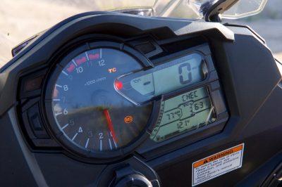 V-Strom gauges