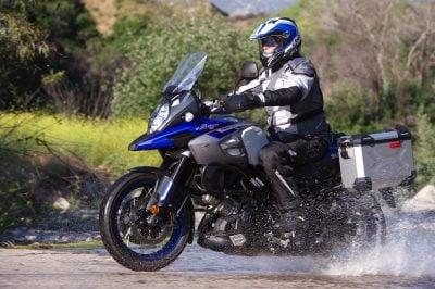 Suzuki 1000XT dirt roads