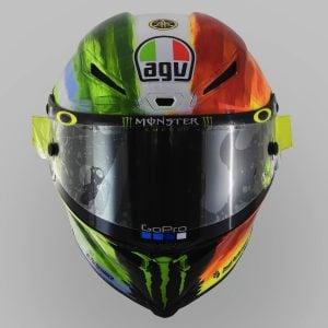 Valentino Rossi and AGV Reveal 2019 Mugello Pista GP R Helmet - front