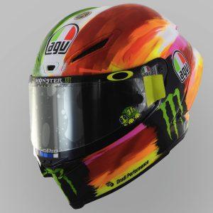 Valentino Rossi and AGV Reveal 2019 Mugello Pista GP R Helmet 3/4 left