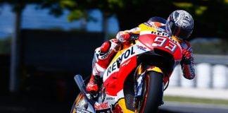 Marc Marquez has lead heading into Assen TT 2019
