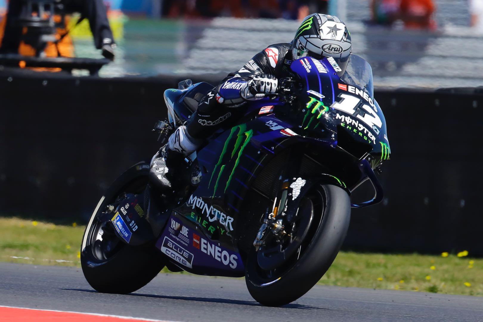 Yamaha Maverick Vinales Assen MotoGP qualifying 2019