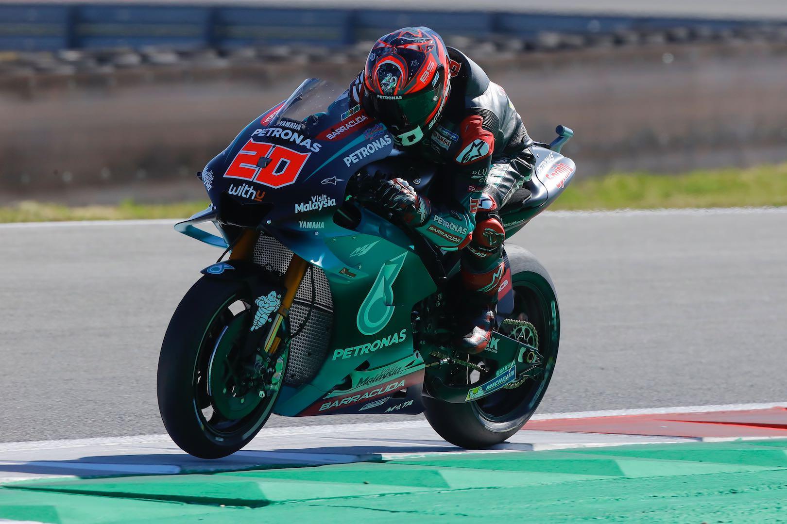 Yamaha's Fabio Quartararo at Assen MotoGP 2019 Qualifying