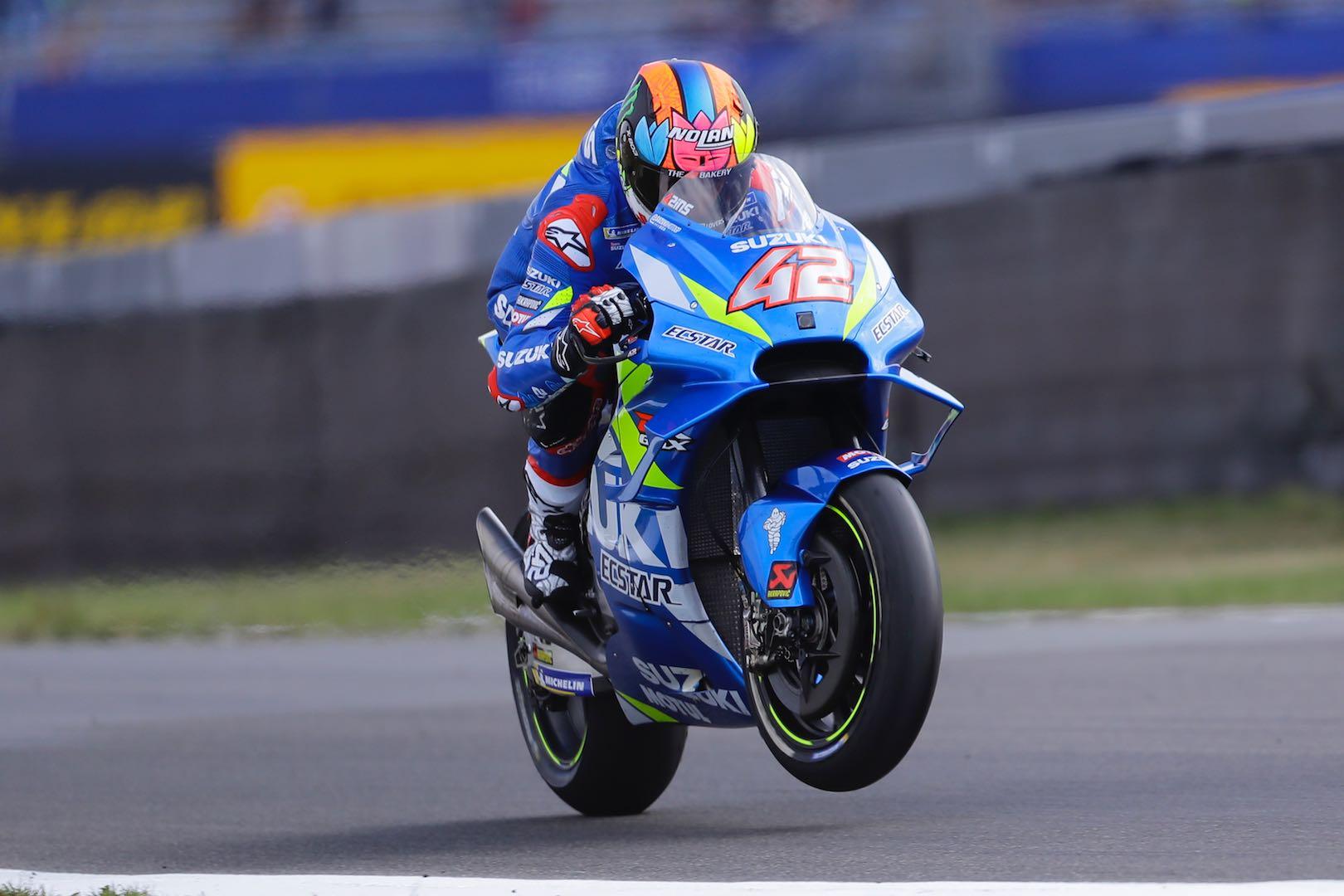 Suzuki Alex Rins Assen MotoGP
