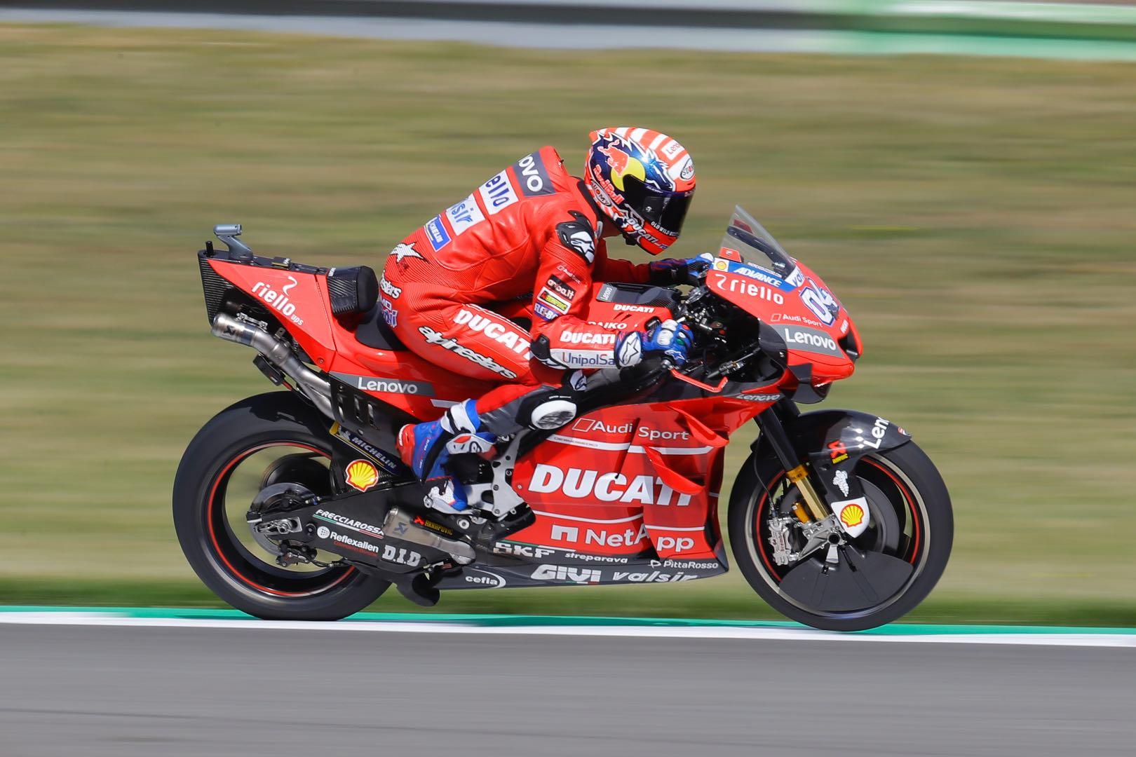 Ducati's Dovizioso at Assen MotoGP 2019
