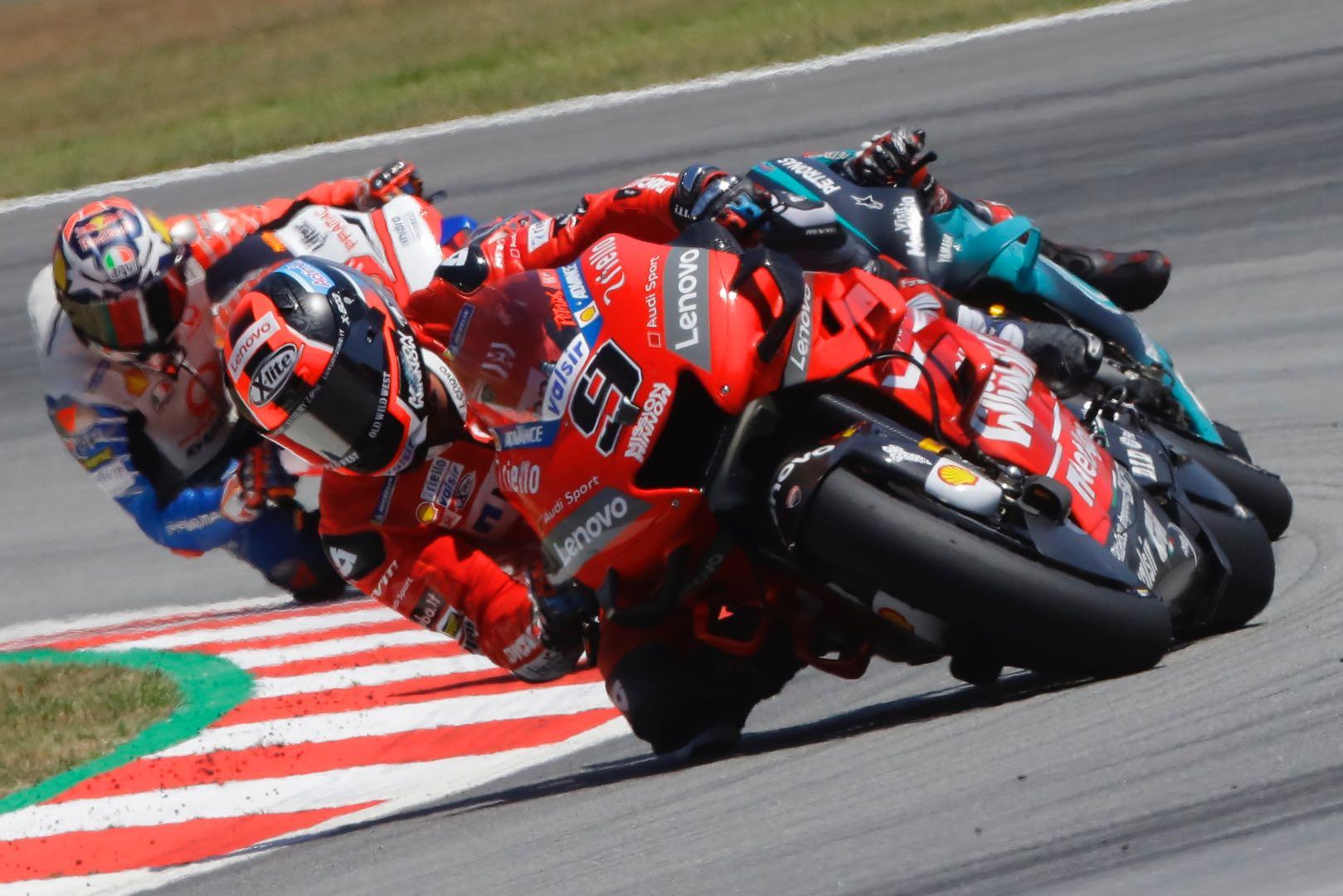 Ducati's Danilo Petrucci at Catalan MotoGP