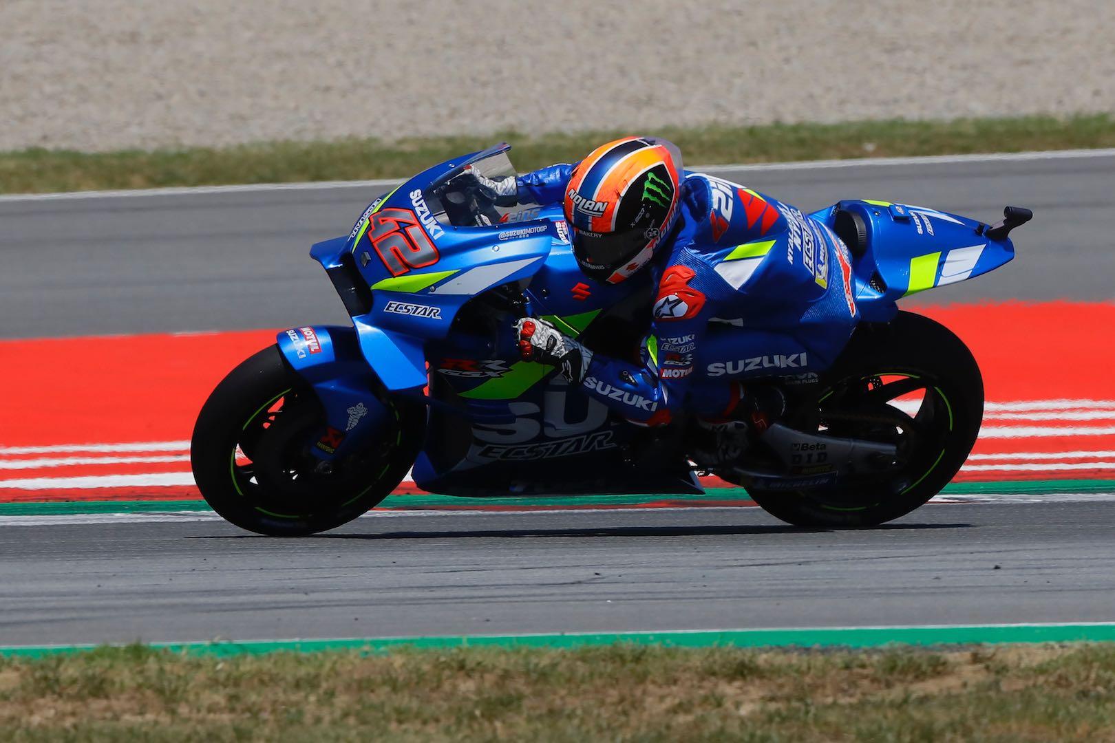 Alex Rins Suzuki's Barcelona MotoGP
