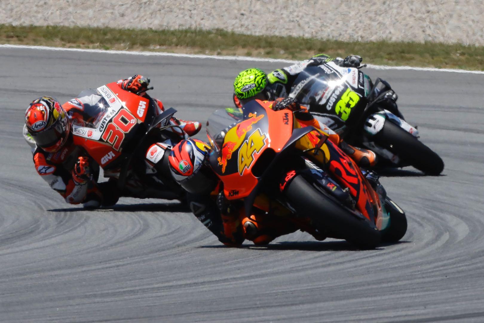 KTM's Pol Espargaro at Catalan MotoGP