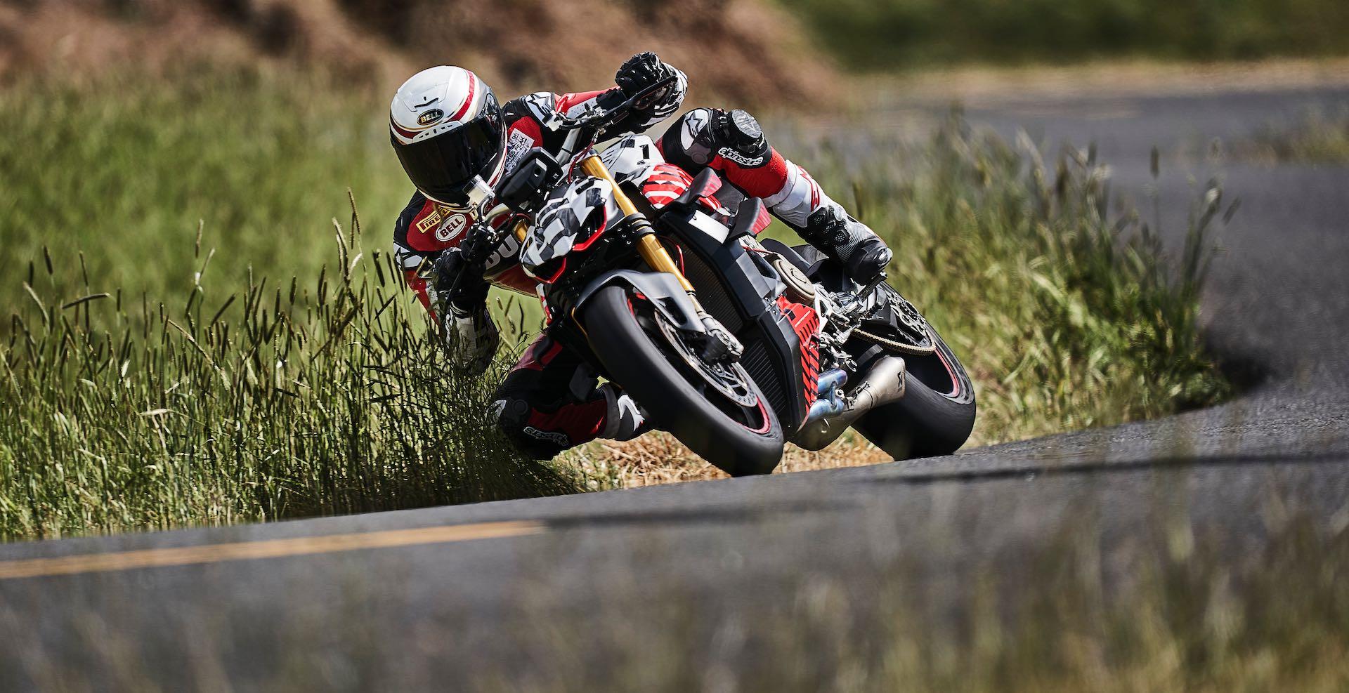 Carlin Dunne on Ducati Streetfighter V4