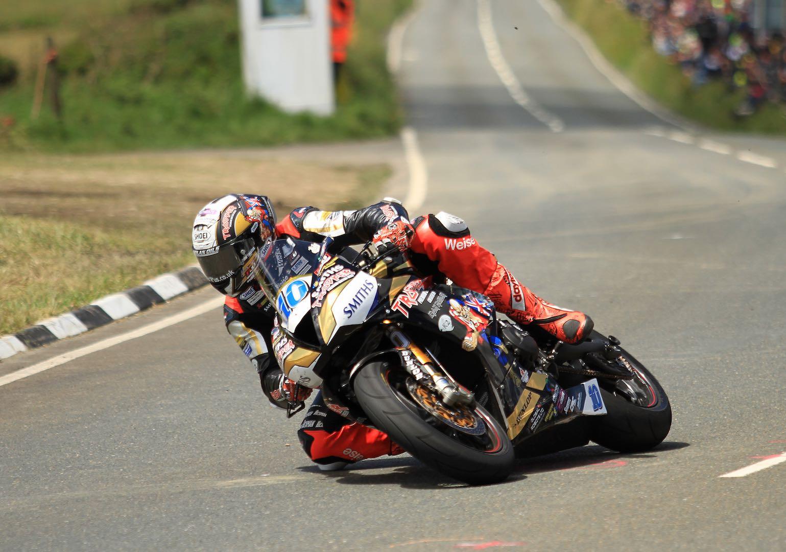 Triumph Peter Hickman Supersport 2 TT