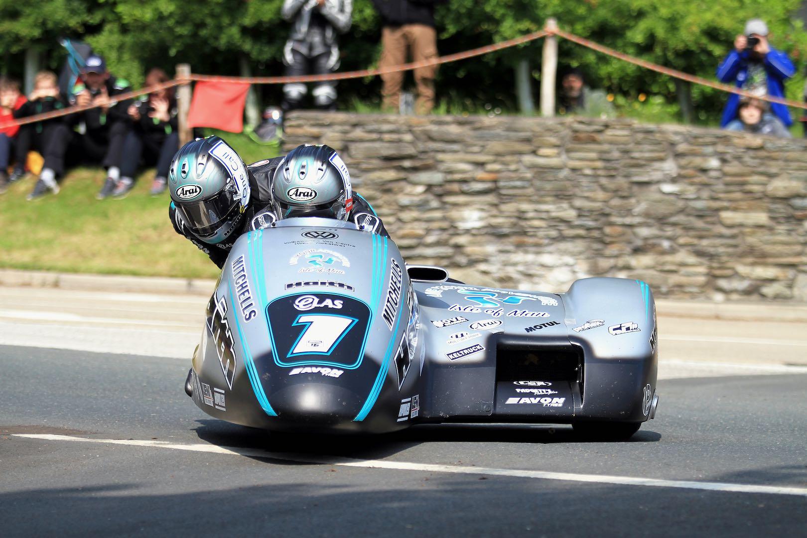 Birchalls in Sidecar TT 2019