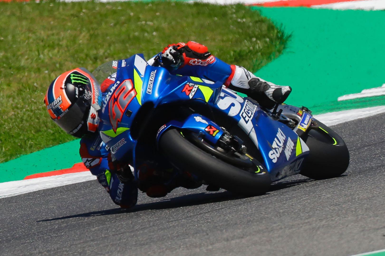 Suzuki's Alex Rins fourth at Mugello MotoGP 2019