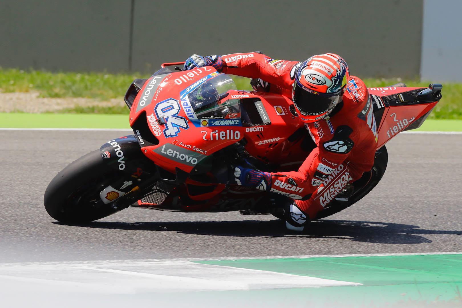 Ducati Dovizioso third at Mugello MotoGP 2019