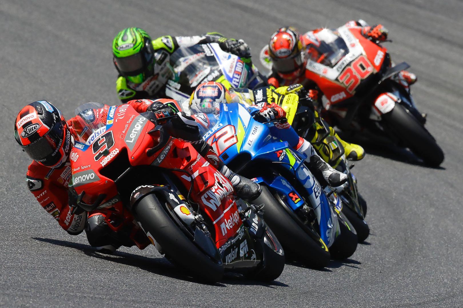 Ducati Danilo Petrucci wins Mugello MotoGP