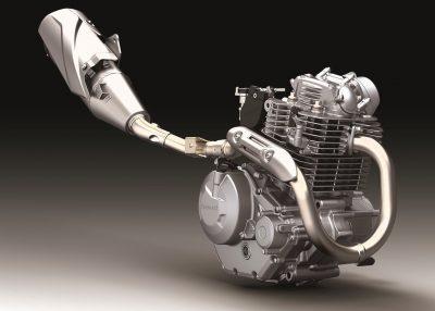 KLX230 engine size