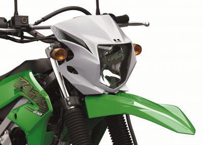 2020 Kawasaki KLX230 headlight