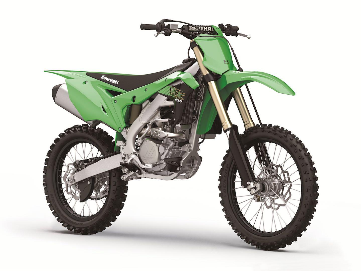 Kawasaki's revised 2020 MX motocrosser