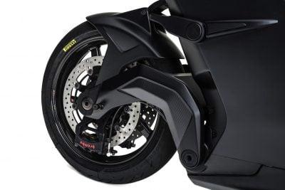 Arc Vector Motorcycle - hub steering front wheel