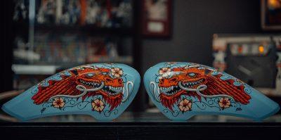 """Cab Dragon"" by Caballero"