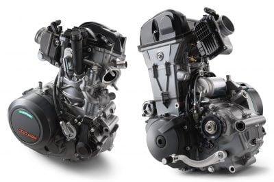 2019 KTM 690 LC4 Motor
