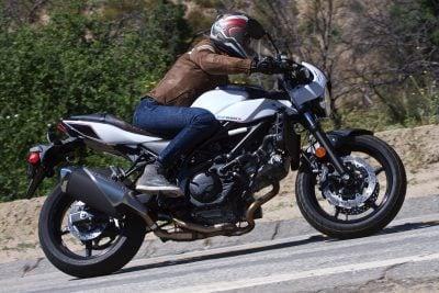 2019 Suzuki SV650X Review - right profile