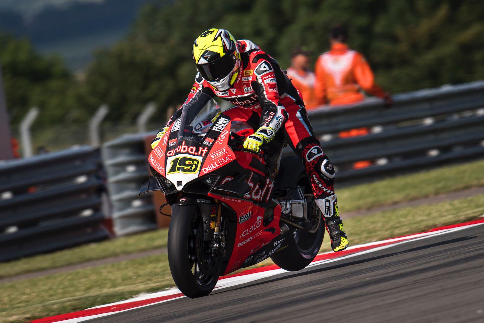 2019 Donington Park WorldSBK Results Ducati's Alvaro Bautista
