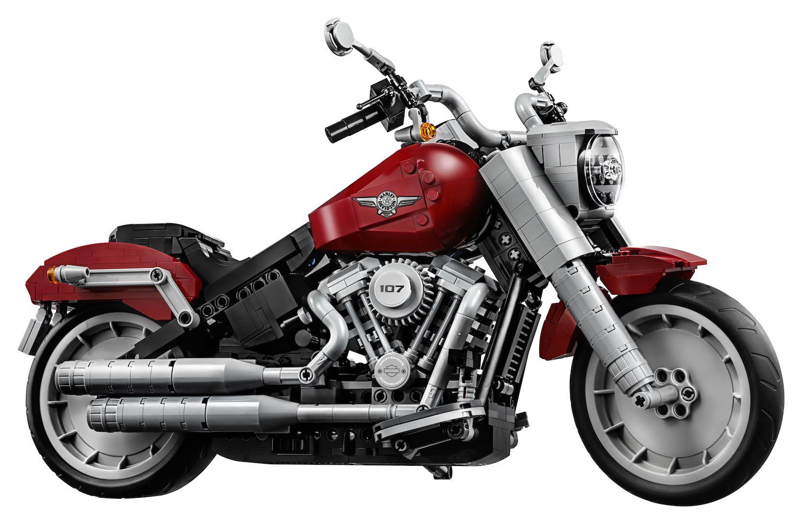 Harley Davidson Toys Fat Boy LEGO model