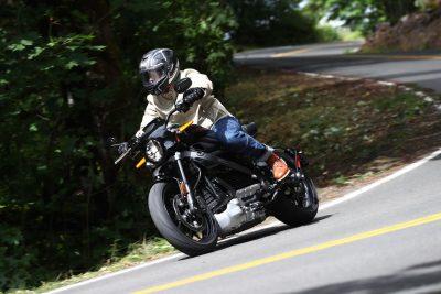 LiveWire Demo Rides Harley