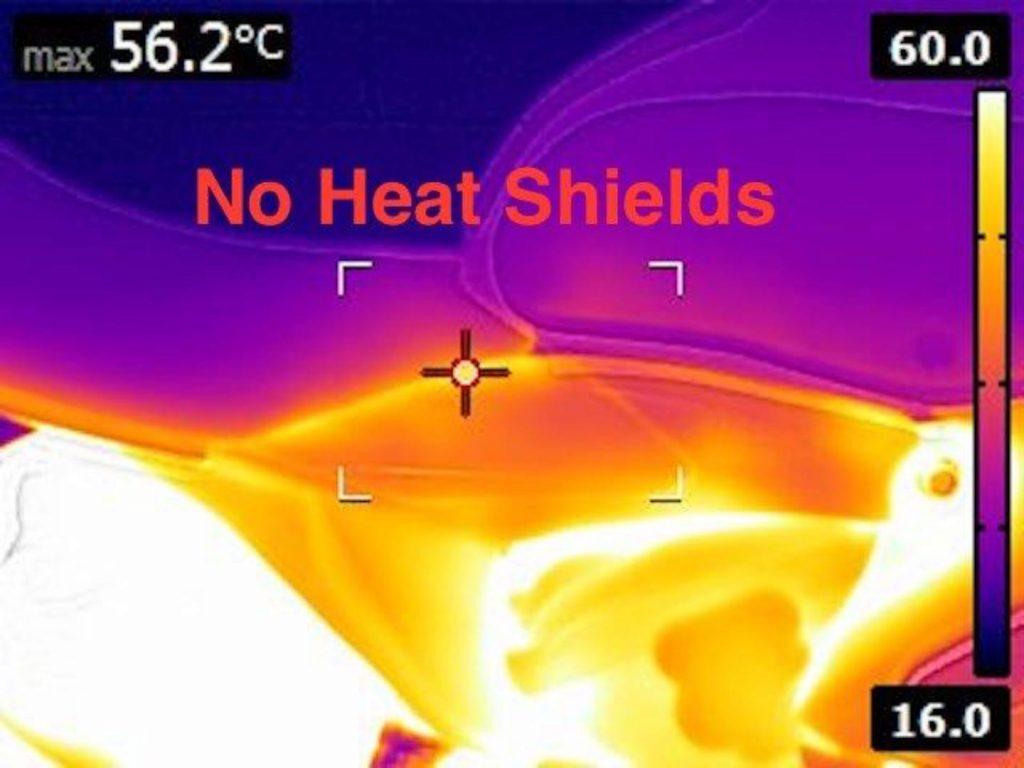Ducati heat Shields