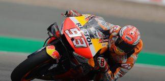 Honda's Marc Marquez at Germany MotoGP 2019