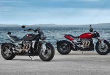 2020 Triumph Rocket 3 R and Rocket 3 GT