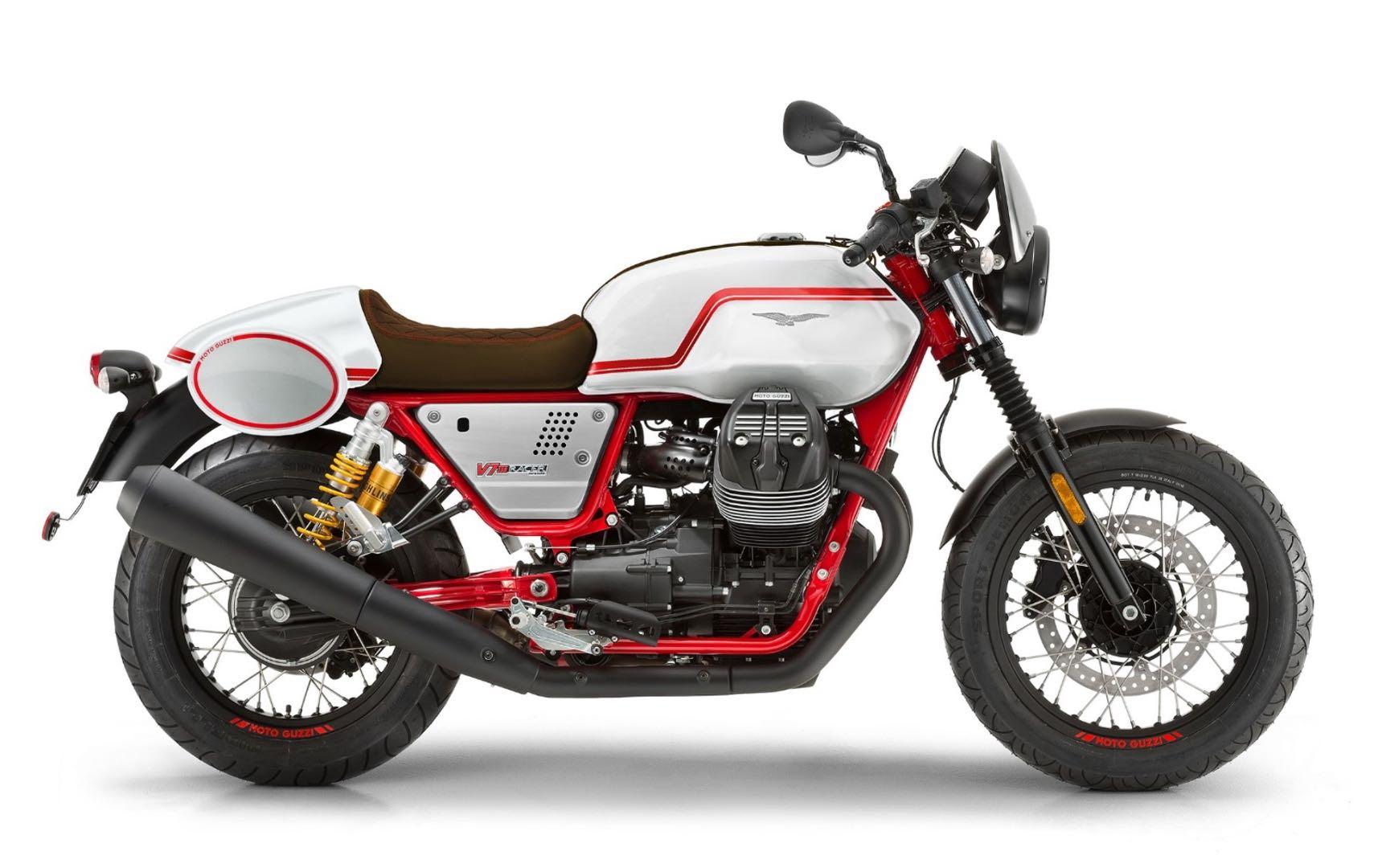 Moto Guzzi V7 III Racer retro motorcycle