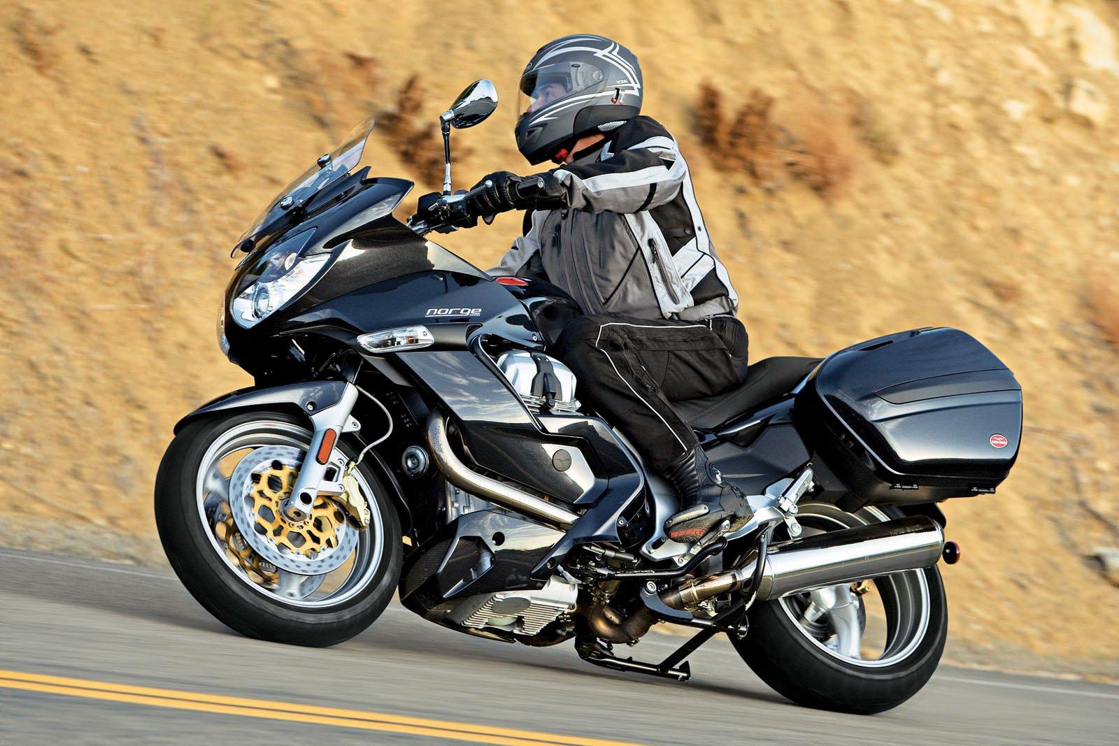 2008 Moto Guzzi Norge test