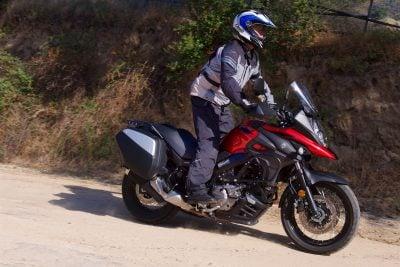 2019 Suzuki V-Strom 650XT Touring Review - Dirt riding