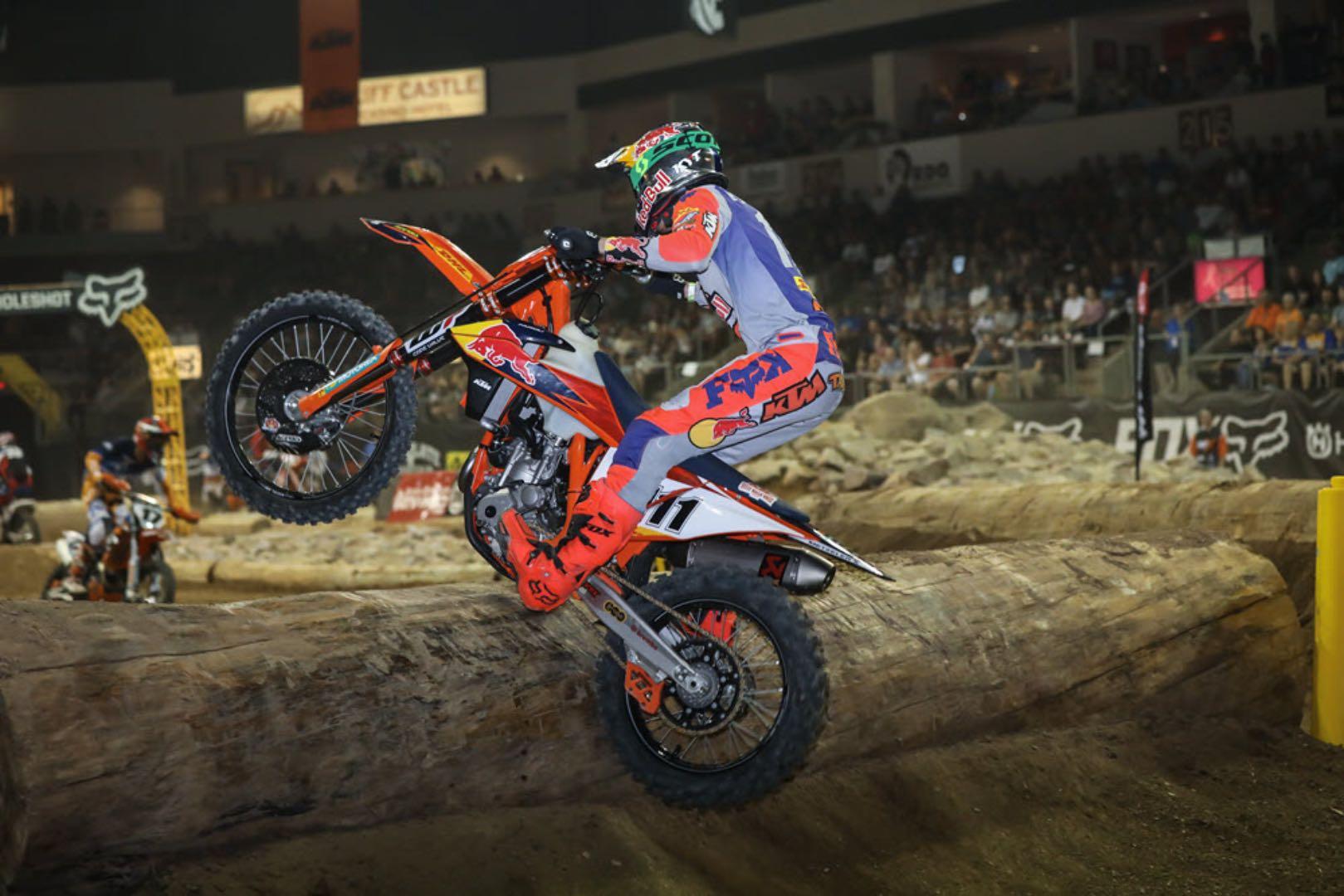 KTM's Taddy Blazusiak at Arizona EnduroCross