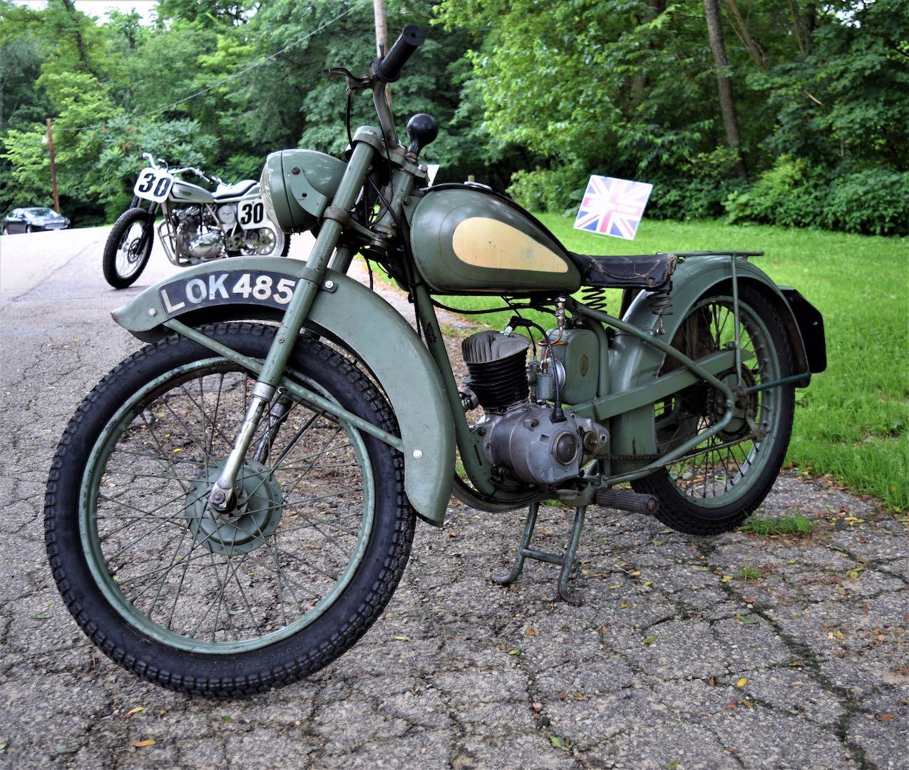 Al Hendrick's 1949 BSA Bantam
