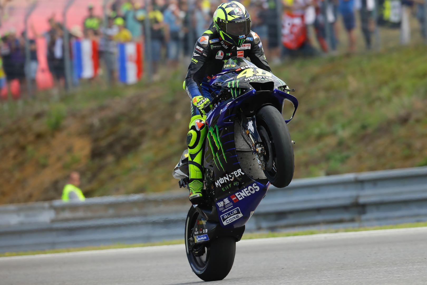 Valentino Rossi at Brno MotoGP 2019